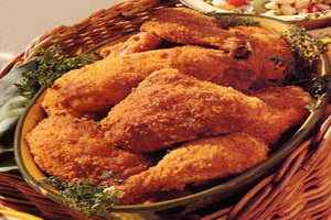 Resep Spicy Oven Fried Chicken