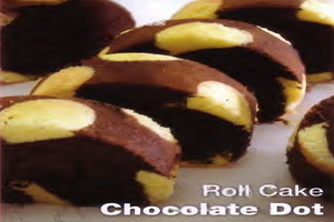 Resep Roll Cake Chocolate Dot