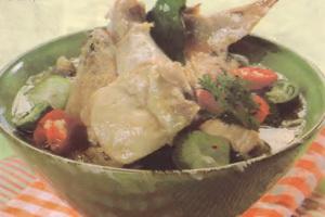 Resep Sayap Ayam Tumis Daun Kedondong