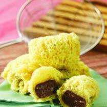 Resep Singkong Coklat Kremes