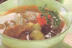 Resep Sup Kikil Taoco