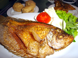 Resep Ikan Gurame Goreng Kering