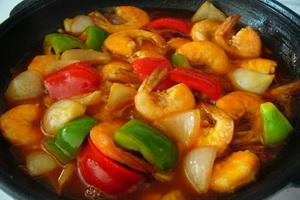 Resep Udang Saus Tomat