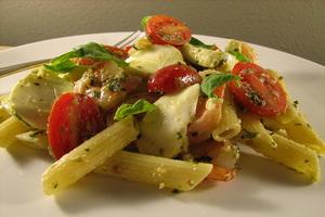 Resep Salad Penne Tomat Kering