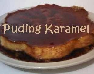 Resep Puding Karamel
