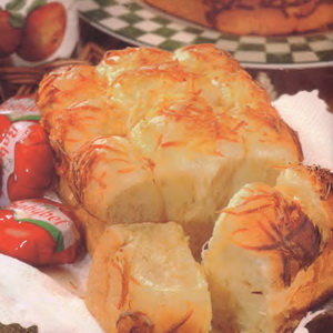 Resep Roti Sobek Tabur Keju