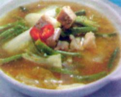 Resep Sayur Asem Sawi (Kalimantan Selatan)