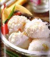 Resep Pisang Dengan Es Krim Kelapa