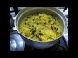 Resep Yellow Rice With Raisin