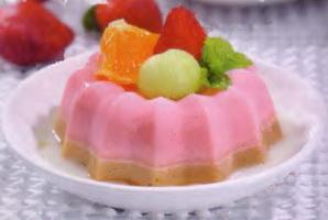 Resep Puding Strawberry Kolak