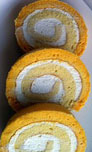 Resep Orange Cotton Roll Cake