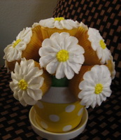 Resep Cup Cake Bouquet