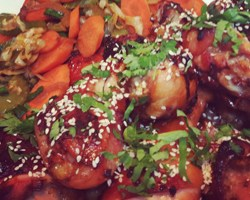 Resep Roast Chicken Teriyaki