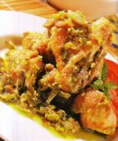 Resep Ayam Masak Cabai Hijau