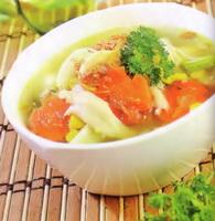 Resep Sup Jamur Bakso Ikan
