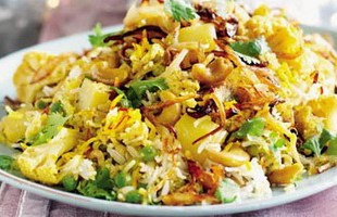 Resep Vegetable Biryani