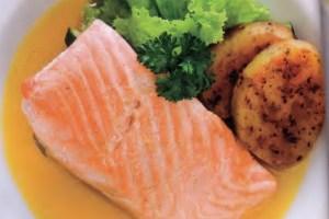 Resep Salmon Grilled Saus Lemon