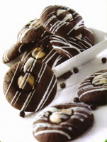 Resep Button Chocolate Cookies