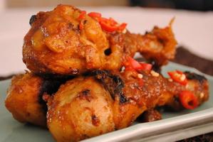 Resep Paha Ayam Bakar Bumbu Nanas