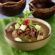 Resep Sayur Brongkos Kacang Tolo Labu Siam