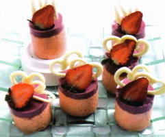 Resep Strawberry Soft Cake