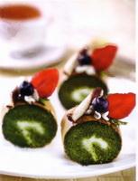 Resep Green Tea Roll