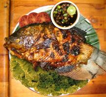 Resep Ikan Bakar Sambal Cabai Iris