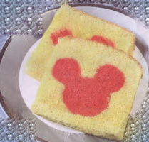 Resep Loaf Cake Mickey Mouse