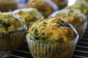 Resep Spinach Muffin