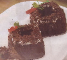 Resep Putu Black Forest