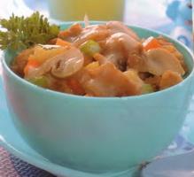 Resep Ayam Goreng Saus Jamur