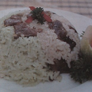 Resep Nasi Kebuli 2 Warna
