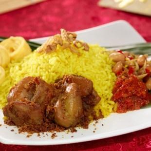 Resep Nasi Kuning Ayam