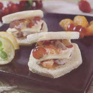 Resep Sandwich Anggur Jeruk