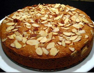 resep-almond-cake