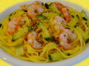 resep-spaghetti-gamberi-e-zucchine