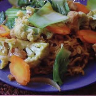 Resep Mie Goreng Kuah Sayuran