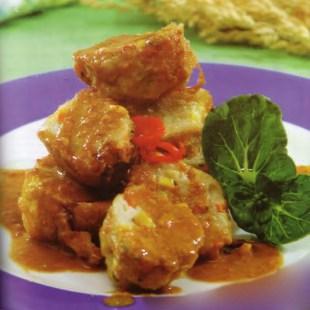 Resep Batagor Ayam Pelangi