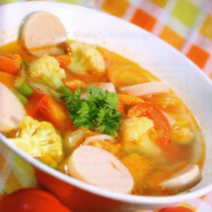 Resep Chicken Rolade Soup