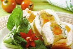 resep-siomay-ayam-gulung-saus-barbeque