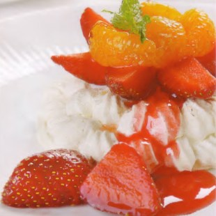 Resep Strawberry Pavlova