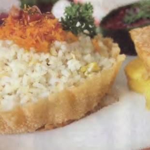 Resep Nasi Lemak Serundeng Mangkuk Pangsit
