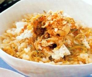 Resep Nasi Teri Tofu