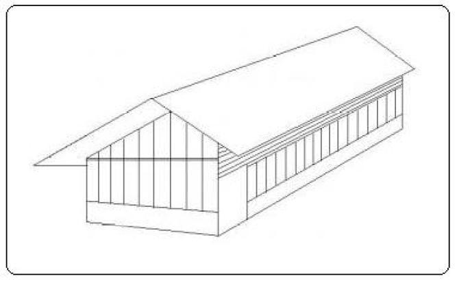 Pembuatan kandang ayam petelur bisa menggunakan tipe kandang postal