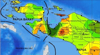 Peta Papua - Daerah Cocok untuk Ternak Ayam Kampung Super