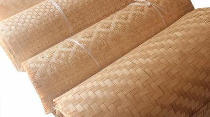 Anyaman dinding Bambu
