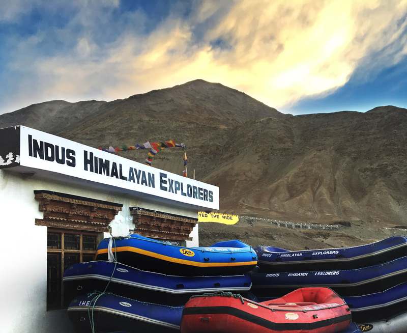 river rafting in Leh with Indus Himalayan Explorers