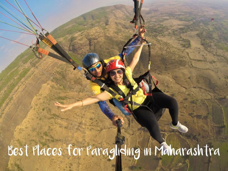 Best places for paragliding in Maharashtra from Pune and Mumbai