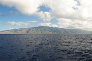 Taken as we approached Molokai on the Molokai Princess Ferry. A dramatic island.