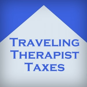 Traveling Therapist Taxes